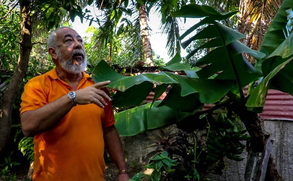 Leonardo Padura em Cuba