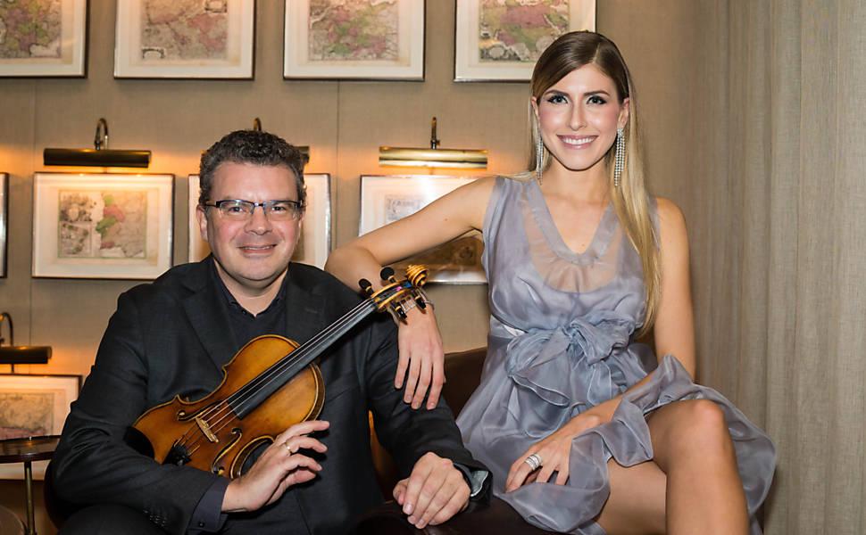 Lançamento do disco de Juliana D'Agostini e Emmanuele Baldini