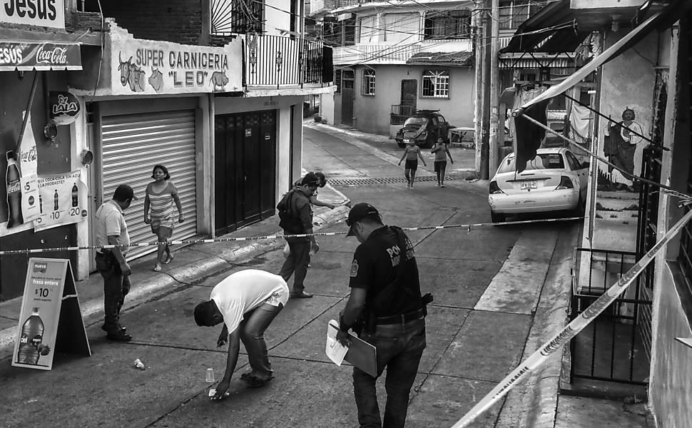 Violência em Acapulco