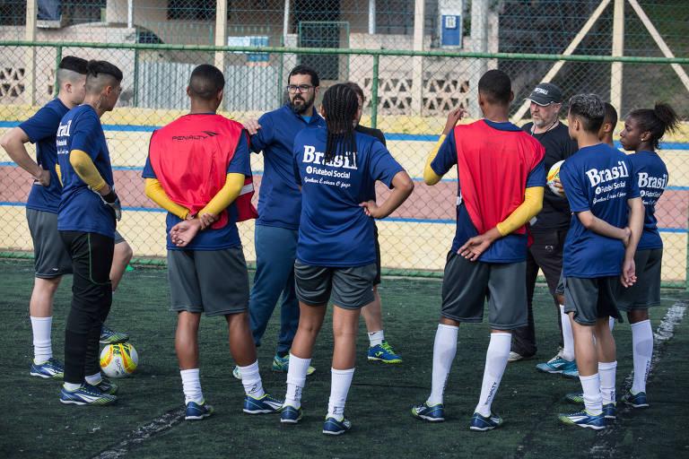 Seleção brasileira de futebol social