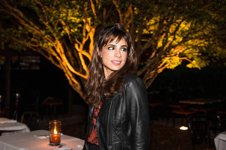 A atriz Maria Ribeiro