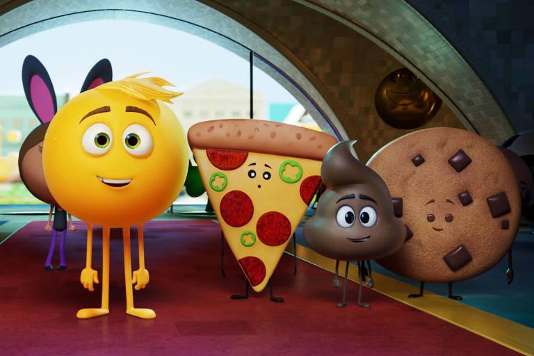 Cena de 'Emoji - O Filme'