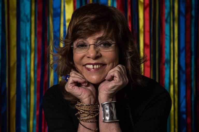 """A autora Gloria Perez na festa de lancamento da novela """"A Força do Querer"""""""