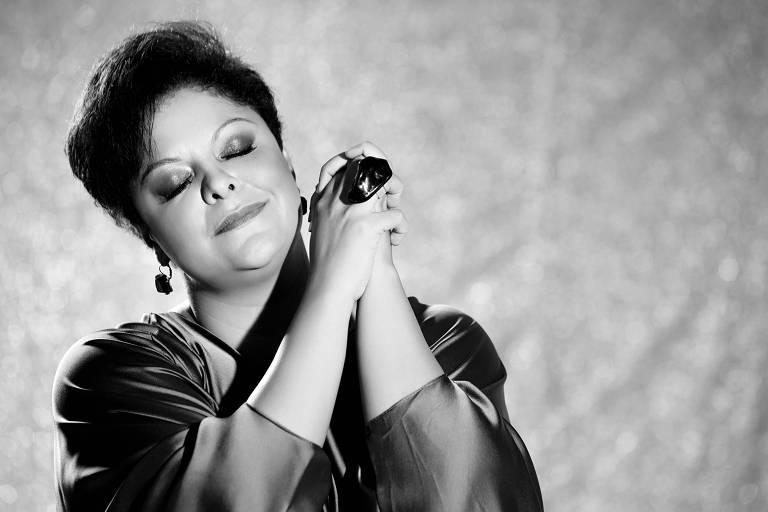 A cantora Fabiana Cozza