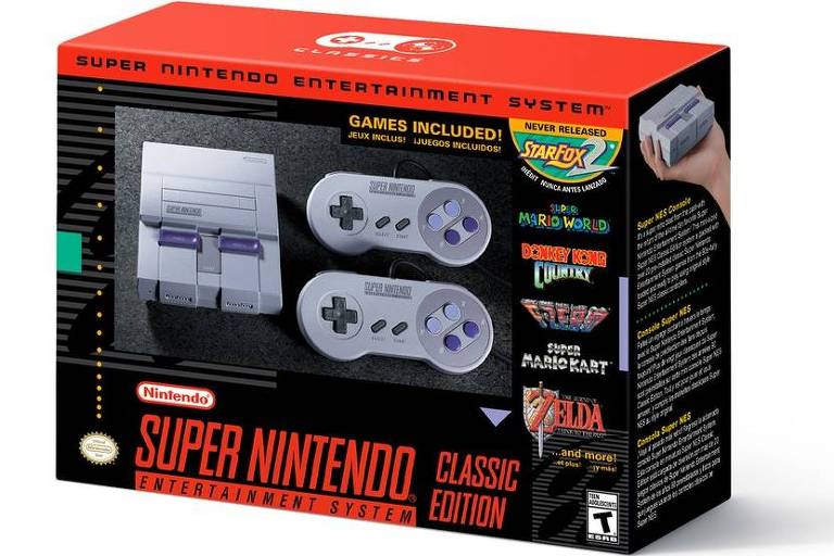 Novo Super Nintendo