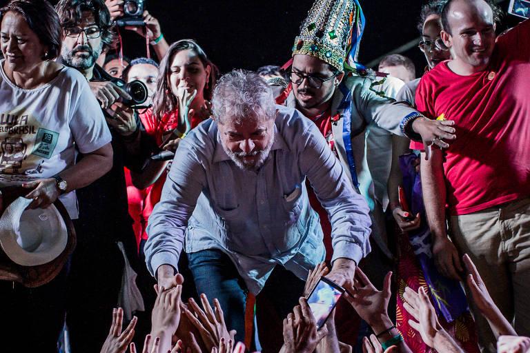 Caravana de Lula viaja pelo Nordeste
