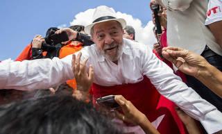 8º dia da caravana Lula - Xexeu (PE)