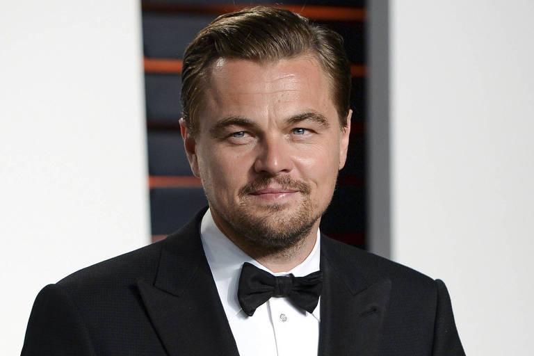 O ator americano Leonardo DiCaprio