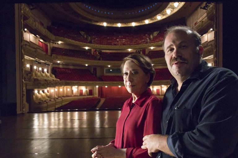 Série 'Nelson Por Ele Mesmo', com Fernanda Montenegro e Otavio Muller
