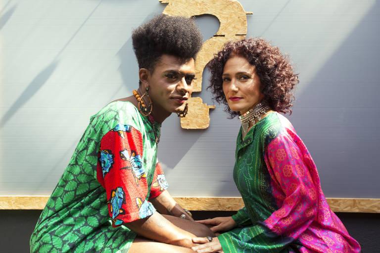 As artistas Liniker e Badi Assad fazem show juntas no Festival Sonora