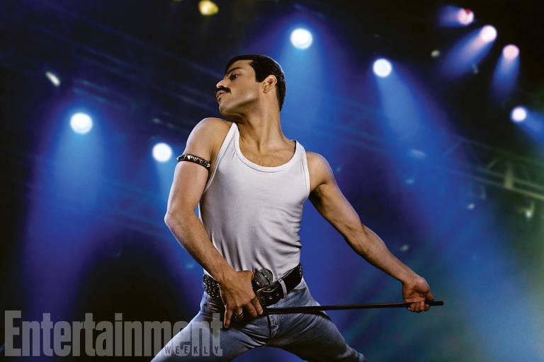 Rami Malek aparece pela primeira vez como Freddie Mercury