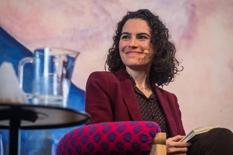 Mar�lia Garcia, autora de 'C�mera Lenta', na Flip de 2016