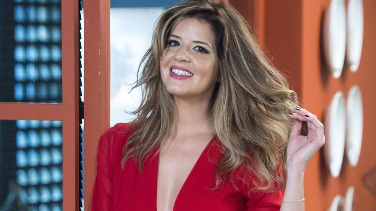 "Maria Pia (Mariana Santos) retorna de Genebra repaginada em ""Pega Pega"""