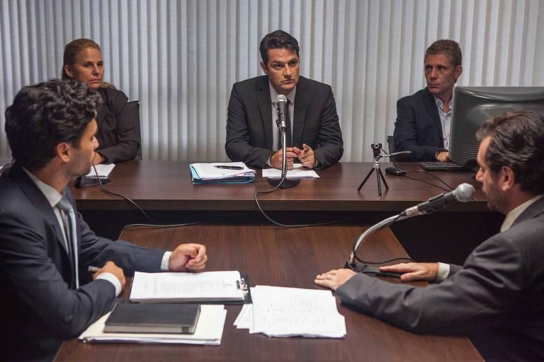Marcelo Serrado interpreta o juiz federal Sergio Moro