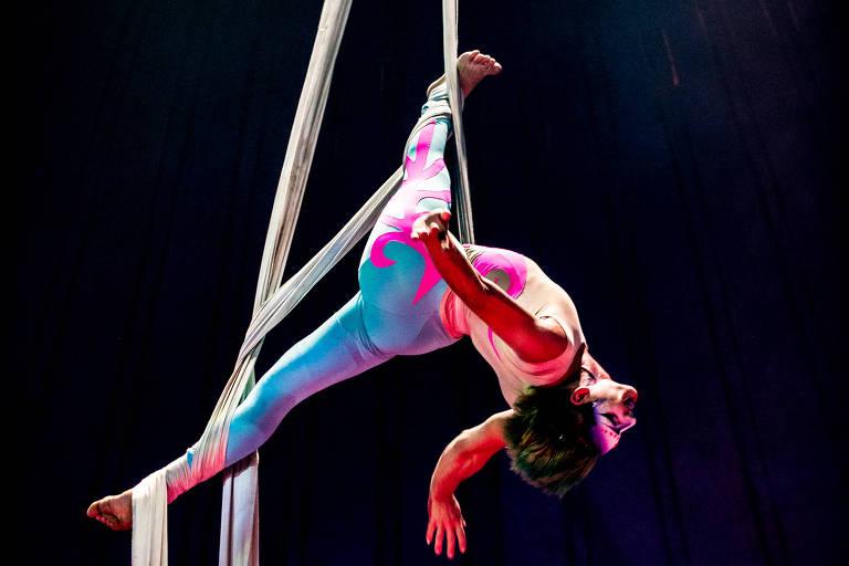 Acrobata do Circo dos Sonhos, do ator Marcos Frota