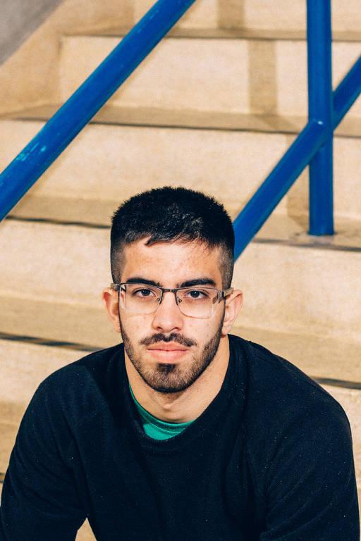 João Vitor Guerreiro Amaral, 18, que vai fazer o Enem pela terceira vez neste ano