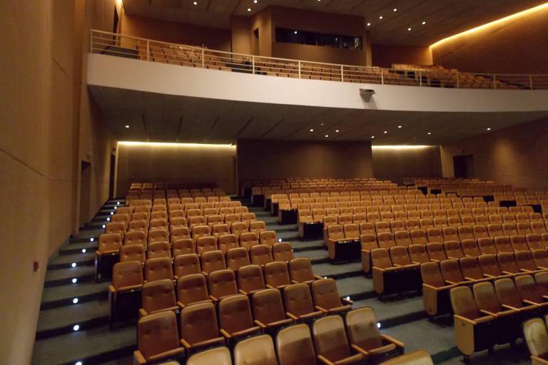 A distribuição do som no Teatro J. Safra sofre alguns entraves