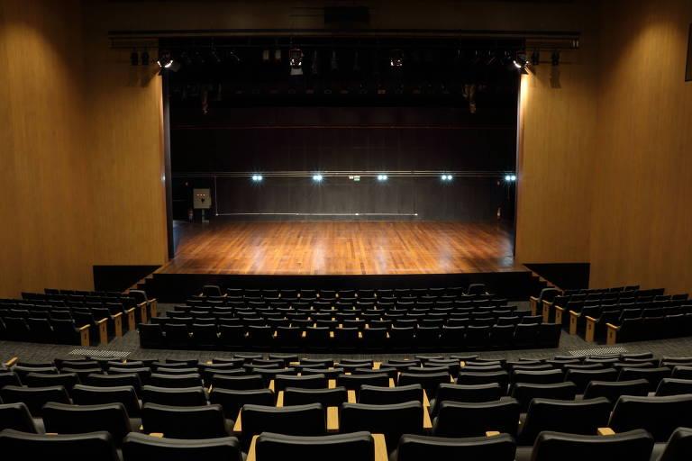 O Teatro Opus impressiona pela força do som