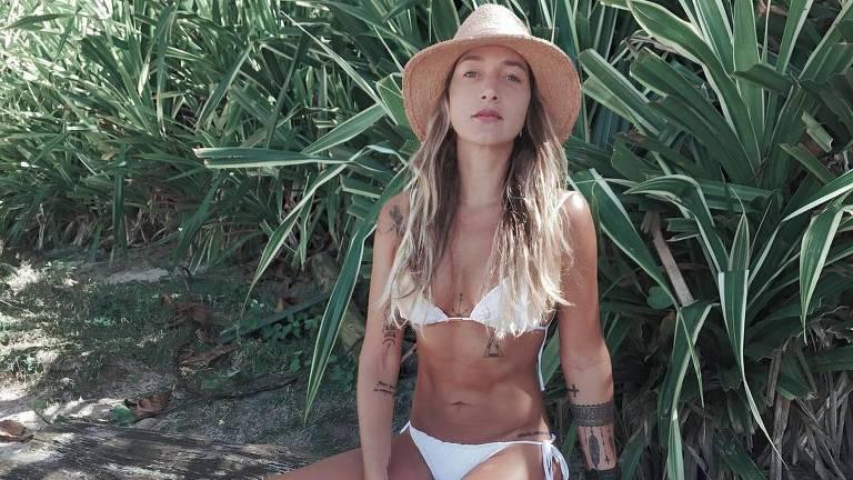 A modelo fitness Gabriela Pugliesi