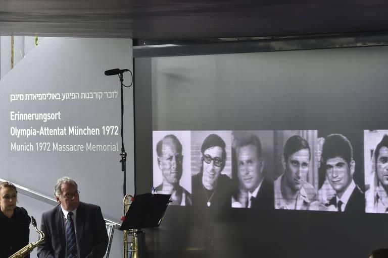 Memorial homenageia vítimas do massacre de Munique-1972