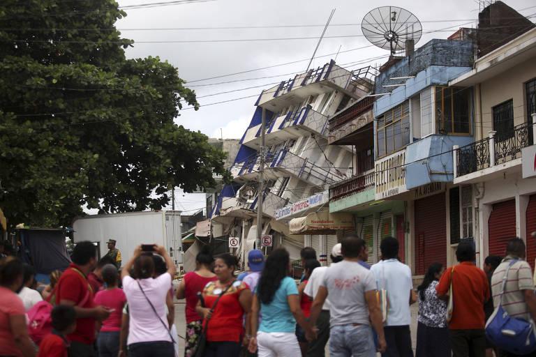 Terremoto no M�xico