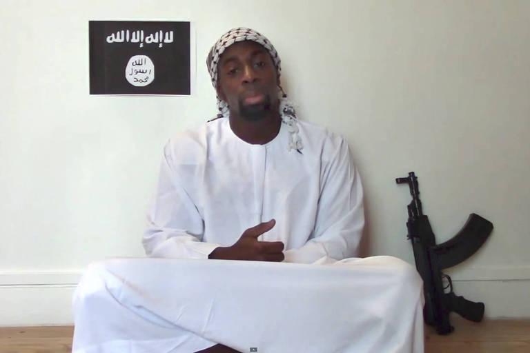 O terrorista Amedy Coulibaly, que invadiu supermercado kosher em 2015 e matou quatro
