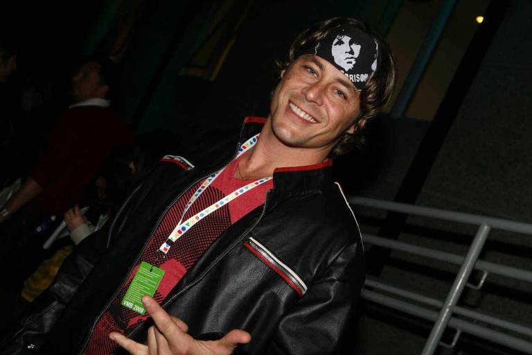 Theo Becker no VMB, premiação da MTV Brasil, em 2011