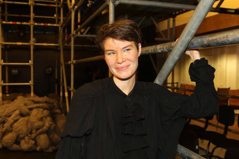 A atriz Luiza Lemmertz