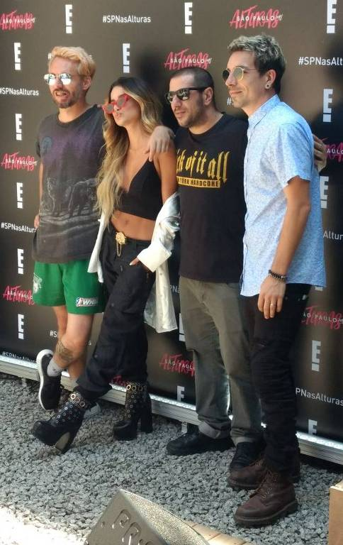 Manu Gavassi, Di Ferrero e Badauí no lançamento do programa