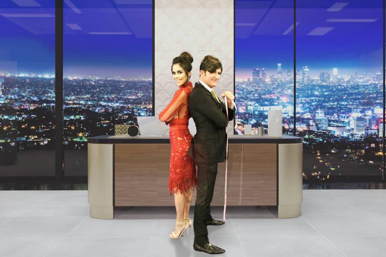 """A apresentadora Daniela Albuquerque e o cirurgião das celebridades Robert Rey comandam a nova temporada de """"Dr. Hollywood"""""""