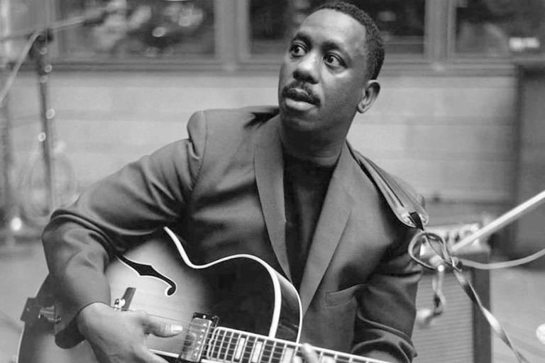 O guitarrista de jazz Wes Montgomery, tema do volume 27 da Cole��o Folha Lendas do Jazz