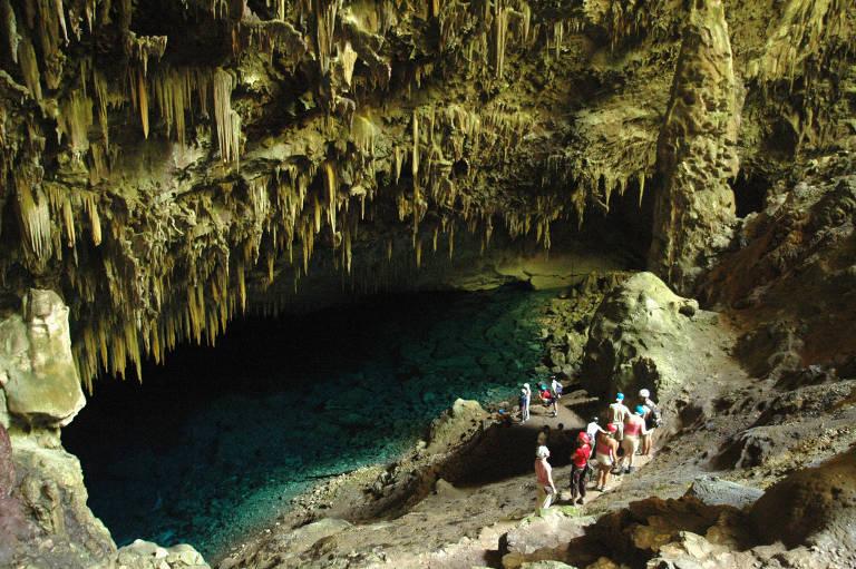 Grutas e cavernas brasileiras