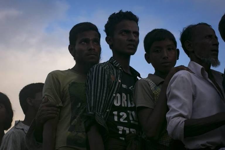 Muçulmanos rohingyas não são reconhecidos como cidadãos em Mianmar