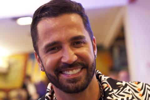 SÃO PAULO, SP, 13.09.2017: FILME-ESTREIA - O cantor Latino na pré-estreia do filme