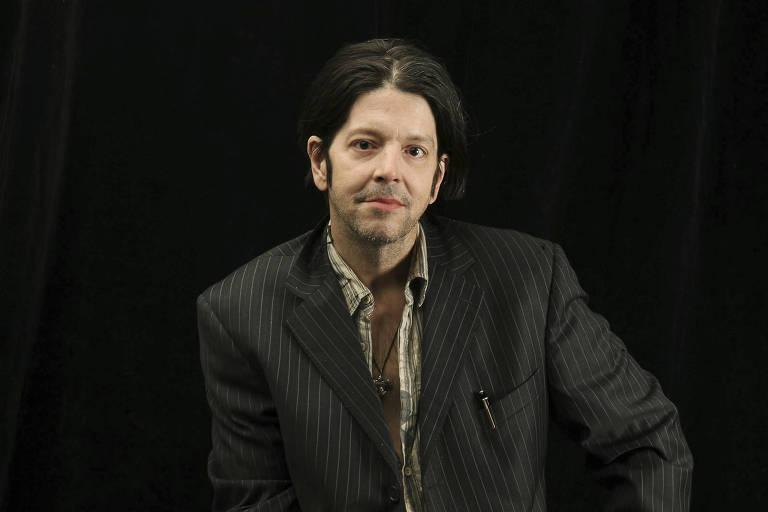 Grant Hart, baterista e fundador da banda americana Hüsker Dü, em 2009