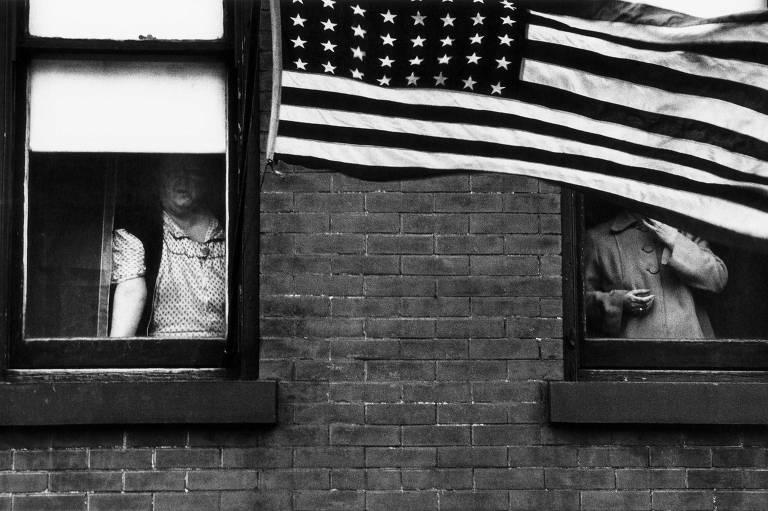 """Fotografia da mostra """"Os Americanos"""", de Robert Frank"""