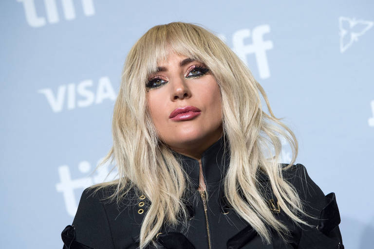 Lady Gaga durante a exibição do documentário 'Gaga: Five Foot Two' no Festival de Toronto