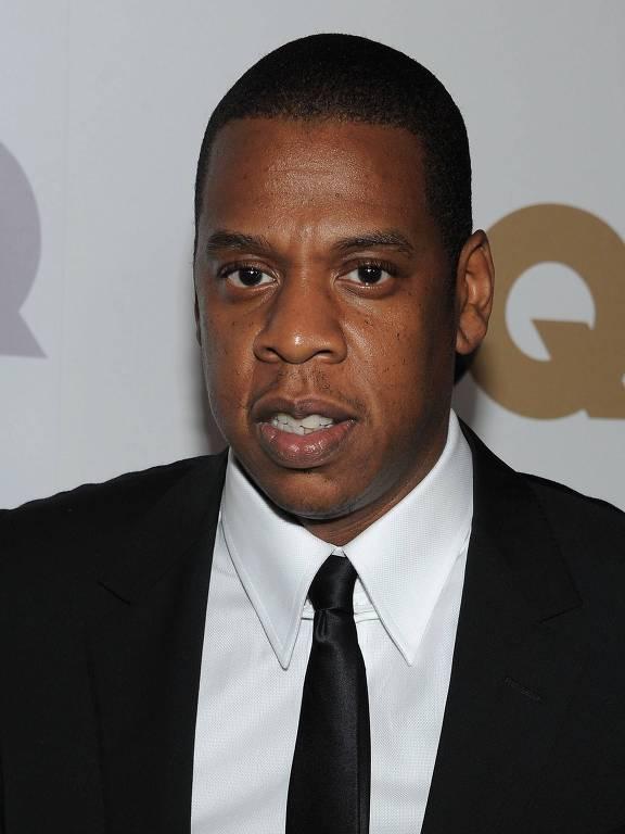 """Jay-Z na premiação Homem do Ano, da revista americana """"GQ"""""""