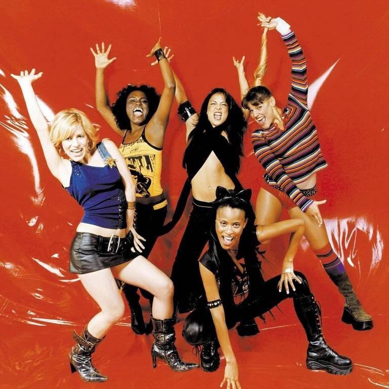 As integrantes do conjunto musical Rouge