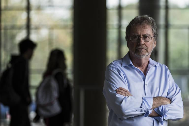 Luiz Davidovich, fisico da UFRJ e presidente da Academia Brasileira de Ciencias; universidade ficou em primeiro no RUF (Ranking Universitário Folha) pelo segundo ano consecutivo
