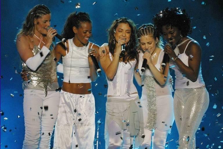 As integrantes do Rouge em 2004