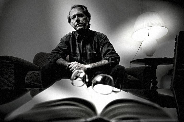 O escritor americano Don DeLillo, em Roma