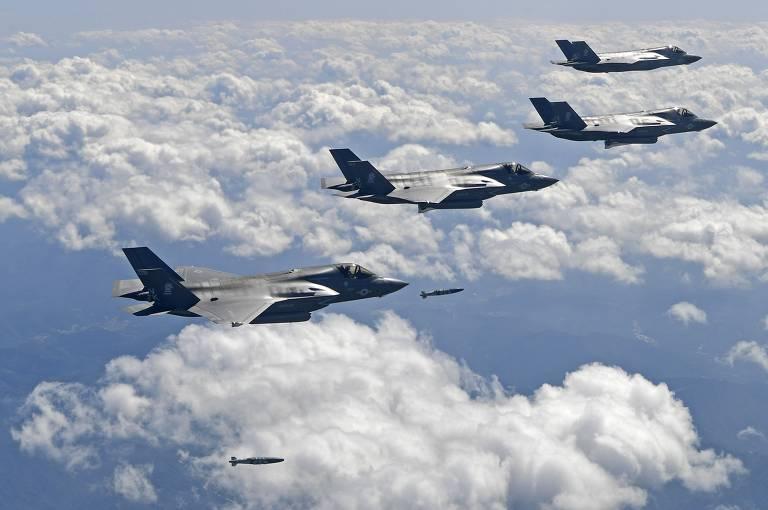 EUA e Coreia do Sul fazem novo exercício militar