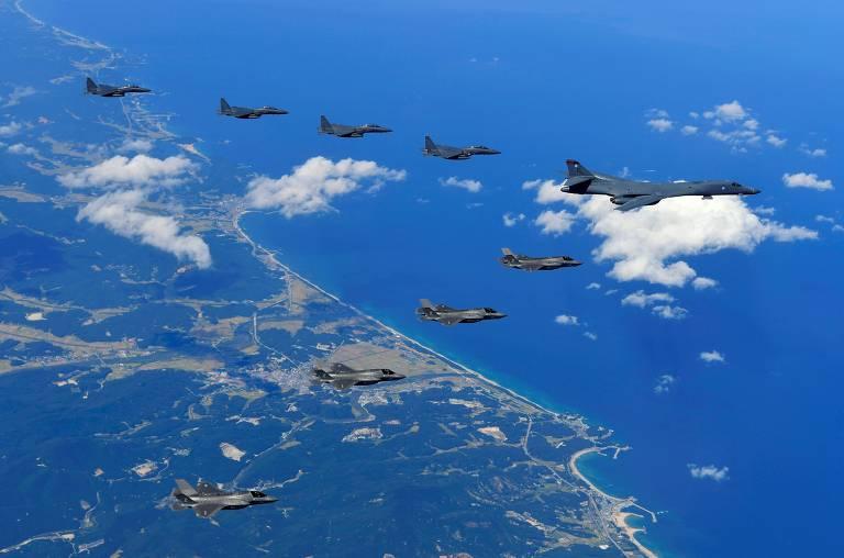 EUA e Coreia do Sul fazem novo exerc�cio militar