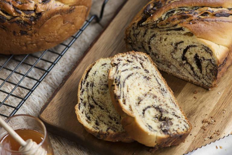 Babka, pão doce trançado, da Casa Santa Luzia