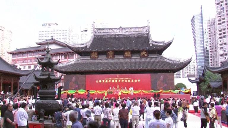 Templo Budista de Xangai