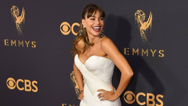 Sofia Vergara no 69º Emmy Awards, no dia 17 de setembro de 2017
