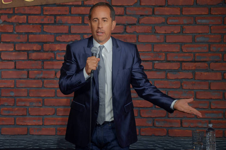 Jerry Seinfeld no especial 'Jerry Before Seinfeld', da Netflix