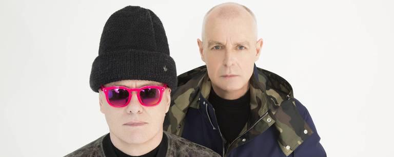 O duo britânico Pet Shop Boys faz show no Espaço das Américas Joseph Sinclair/Divulgação
