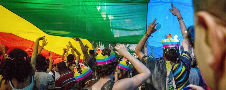 Parada Gay 2017 Giovanni Bello/Folhapress
